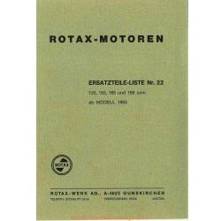 Rotax 125 150 165 185 1963 Manuel Utilisateur