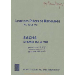 Sachs 161 201 Pieces Piece Rechange