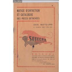 Sotecma Moteur 2t 125 Et 175 Cm Bouyer 555 Piece Rechange
