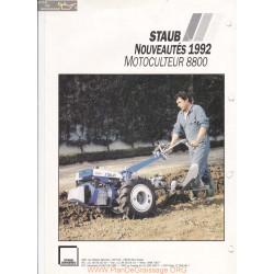 Staub 8800 Fiche Information