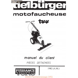 Tielburger T44 Ancien Modele Piece Rechange