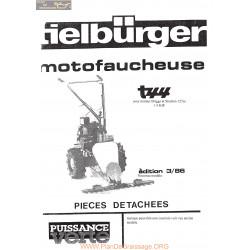 Tielburger T44 Nouveau Modele Piece Rechange