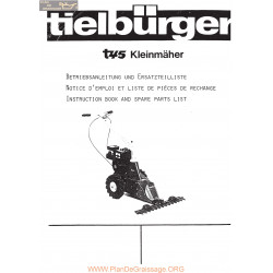Tielburger T45 Manuel Entretien
