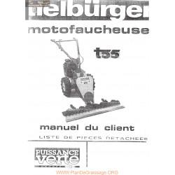 Tielburger T55 Motofaucheuse Manuel Entretien