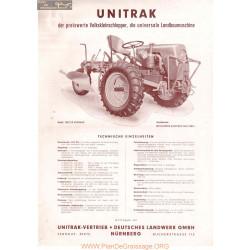 Unitrak Fiche Information