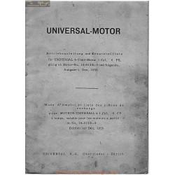 Universal 1cyl 6cv Piece Rechange