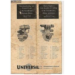 Universal D2 Fiche Information