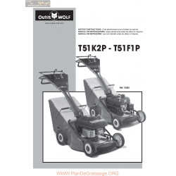 Wolf T51k2p Piece Rechange Notice Instruction