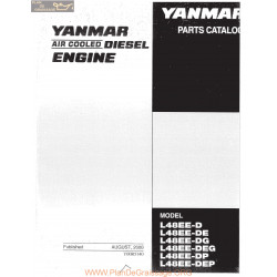 Yanmar Diesel L Ee Series Parts Complete