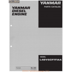 Yanmar Diesel L V6 Series Parts Complete