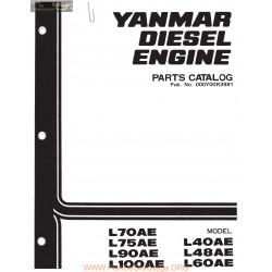 Yanmar Diesel L40ae 100ae Parts Complete