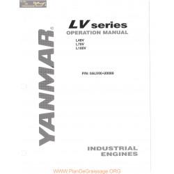 Yanmar Diesel Lv Series Operation Complete Manuel Utilisateur
