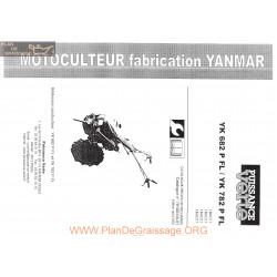 Yanmar Yk 682 Pfl Yk782pfl Manuel Utilisateur