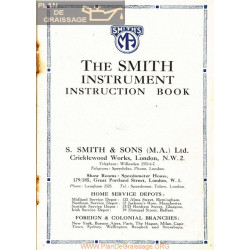 General The Smith Instrument Instruction Book