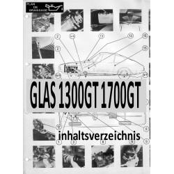 Glas 1300gt 1700gt 0 Inhaltsverzeichnis