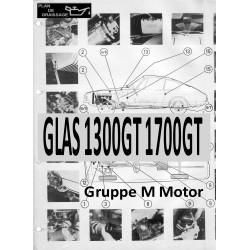 Glas 1300gt 1700gt 1 Gruppe M Motor