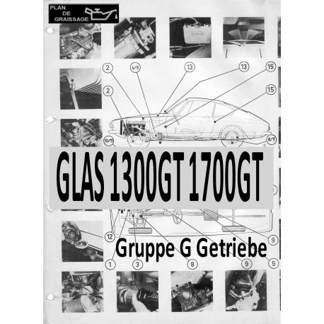 Glas 1300gt 1700gt 2 Gruppe G Getriebe