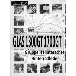 Glas 1300gt 1700gt 3 Gruppe H Hinterachse Hinterradfeder