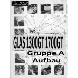Glas 1300gt 1700gt 8 Gruppe A Aufbau