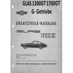 Glas 1300gt 1700gt G Getriebe