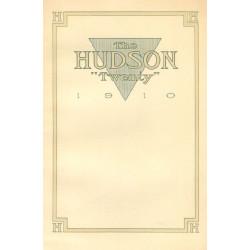 Hudson 1910 20 1st Annoucement Brochure