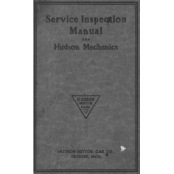 Hudson 1914 16 Service Inspection Manual 4 Mechanics