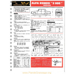 Alfa Romeo 2000 Berline Ft