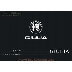 Alfa Romeo 2017 Giulia User Manual