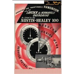 Austin Healey 100 Overdrive Hand Book