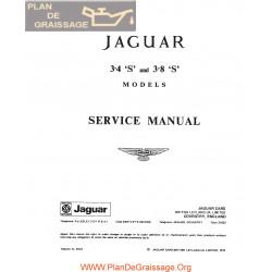 Jaguar 3400 380 S Service Manual