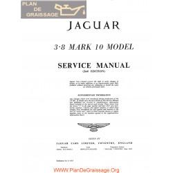 Jaguar 3800 Mark 10 Service Manual