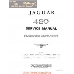 Jaguar 420 Service Manual
