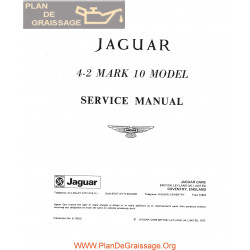 Jaguar 4200 Mark 10 Service Manual