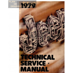 Jeep 1979 Repair Shop Manual Original