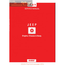 Jeep Chrysler 1989 Electrical Service Manual