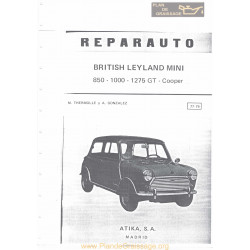 Leyland Mini 850 100 1275 Gt