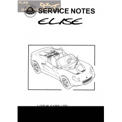 Lotus Elise A111t0327j 1996 Service Manual