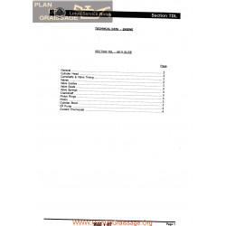 Lotus Elise M111 Technical Data Engine