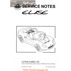 Lotus Elise Service Notes Full