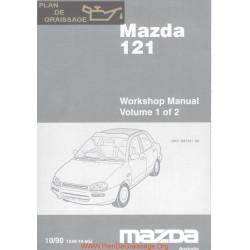 Mazda 121 1990 Manual P1