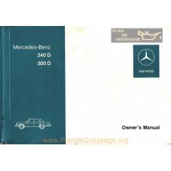 Mercedes 240d 300d Om 1976