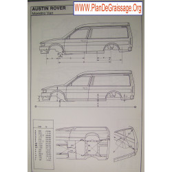 Austin Rover Maestro Van