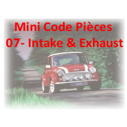 Mini Code Pieces 07 Intake Exhaust