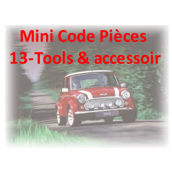 Mini Code Pieces 13 Tools Accessoir