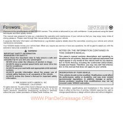 Nissan 1997 Altima User Manual