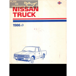 Nissan 720 Truck 1986 Factory Service Manual