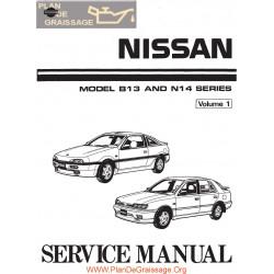 Nissan B13 N14 100 Nx 1600 2000 Sunny Sentra Ga16de Sr20de P1