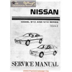 Nissan B13 N14 100 Nx 1600 2000 Sunny Sentra Ga16de Sr20de P2
