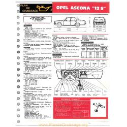 Opel Ascona 12s Ft