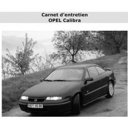 Opel Calibra Carnet Dentreien